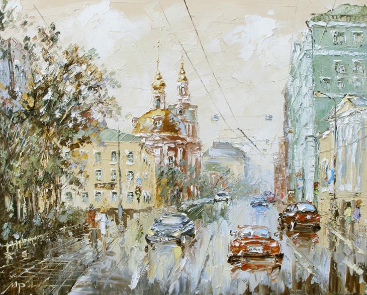 картины москва: