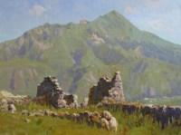 История,застывшая в камне - горный пейзаж