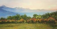 Картина в горах